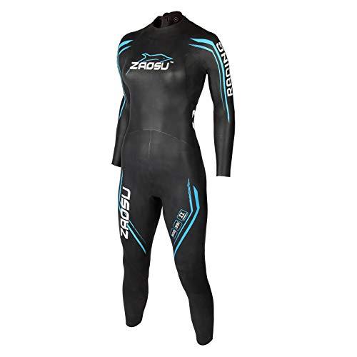 ZAOSU Damen Neoprenanzug Racing 2.0 | Flexibler Openwater Triathlon Wetsuit fürs Freiwasser...