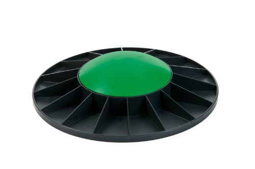 Togu Unisex– Erwachsene Balance Board, grün, 40x9,5 cm