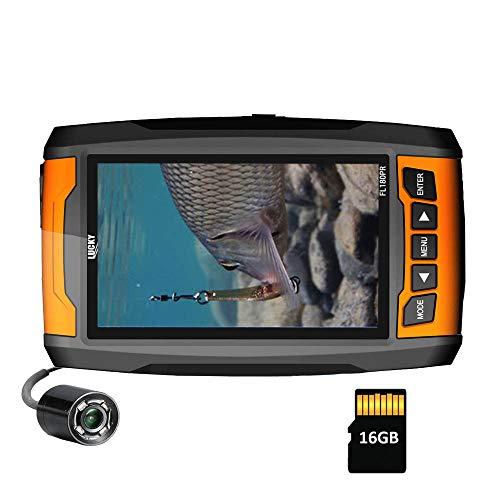 LUCKY Underwater Fishing Camera Tragbare hochauflösende Fischfinder-Kamera mit Infrarotlichtern...