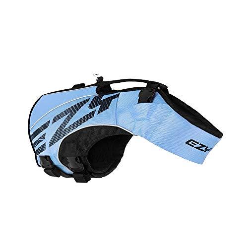 EzyDog X2 Boost Hundeschwimmweste, Größe XS, Blau
