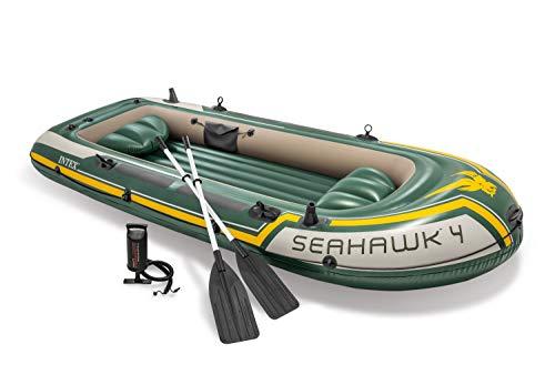 Intex Seahawk 4 Set Schlauchboot - 351 x 145 x 48 cm - 4-teilig - Grün
