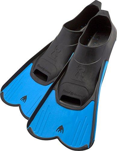 Cressi Schwimmflossen / Taucherflossen kurz Blau blau L
