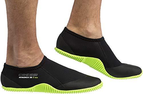 Cressi Minorca Shorty Boots 3mm - Niedrige 3-mm-Neoprenstiefel für Tauch- und Wasseraktivitäten,...