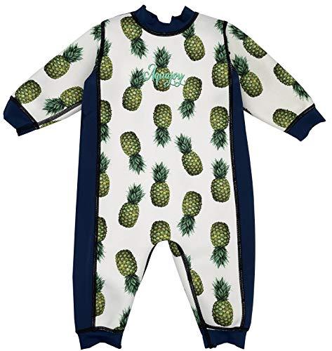 Aquajoy Warmsy - Premium Wende-Schwimmanzug | Warmer Neoprenanzug für Babys & Kleinkinder | Warme...